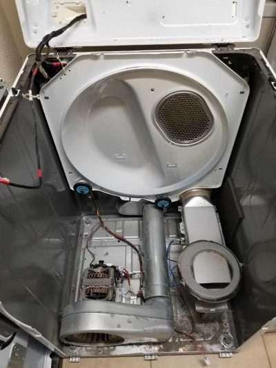 Dryer Idler Pulley Repair