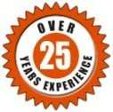Over 25 years of appliance repair experience