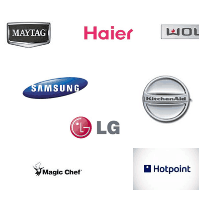 Brands of Appliances We Service